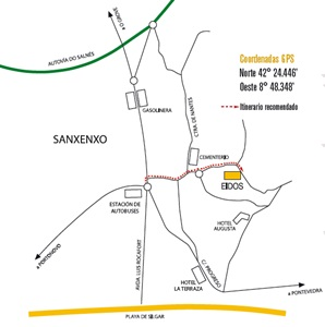 Bodega Adega Eidos localizacion