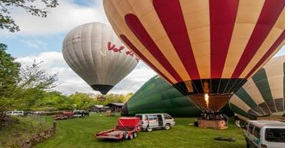 vuelo globo garrotxa
