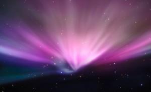 aurora boreal cielo