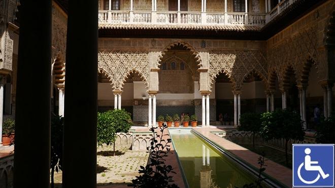 Ruta de Isabel en Sevilla accesible @travelsadaptado
